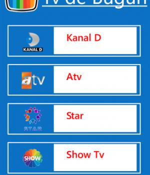 TV'de Bugün Ekran Görüntüleri - 2
