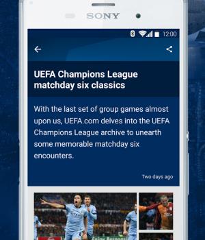 UEFA Champions League Ekran Görüntüleri - 1