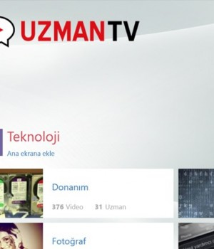 UZMANTV Ekran Görüntüleri - 4