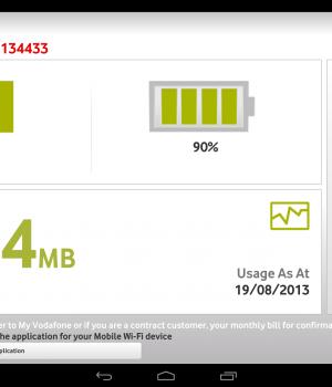 Vodafone Mobile Wi-Fi Monitor Ekran Görüntüleri - 2