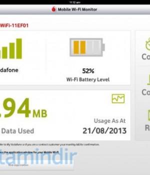 Vodafone Mobile Wi-Fi Monitor Ekran Görüntüleri - 1