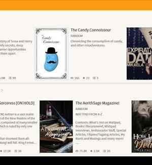 Wattpad Ekran Görüntüleri - 5