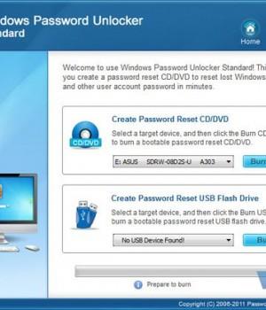 Windows Password Unlocker Standard Ekran Görüntüleri - 1