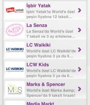 World Alışveriş Asistanı Ekran Görüntüleri - 1