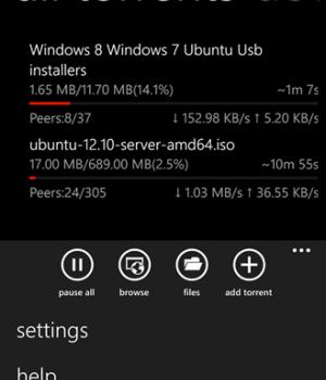 wpTorrent Ekran Görüntüleri - 1