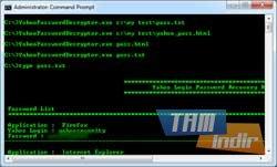 Yahoo Password Decryptor Ekran Görüntüleri - 1