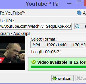 YouTube Pal Ekran Görüntüleri - 1