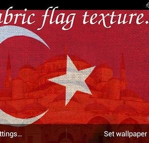 3D Turkey Flag LWP Ekran Görüntüleri - 6