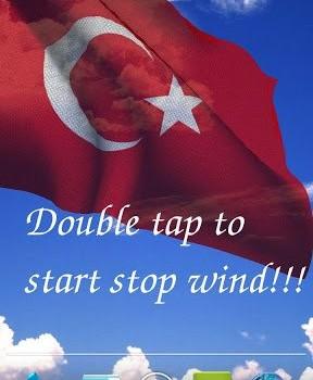 3D Turkey Flag LWP Ekran Görüntüleri - 1