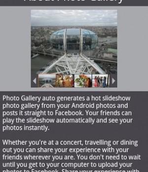 Photo Gallery for Facebook Ekran Görüntüleri - 3