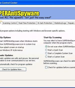 SUPERAntiSpyware Professional Ekran Görüntüleri - 3