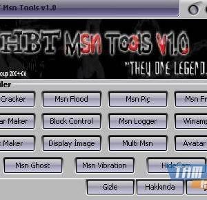 Msn Tools Ekran Görüntüleri - 1