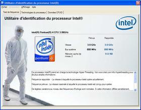 Intel® Processor Identification Utility Ekran Görüntüleri - 1