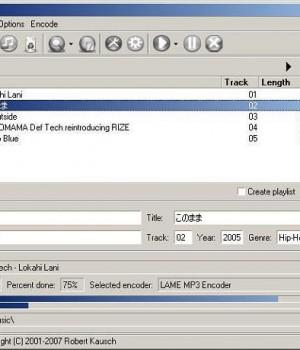 BonkEnc Audio Encoder Ekran Görüntüleri - 1