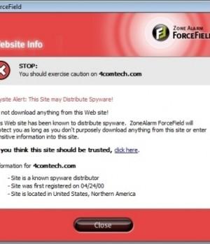 ZoneAlarm ForceField Ekran Görüntüleri - 3