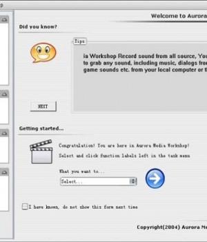 Aurora Media Workshop Ekran Görüntüleri - 1