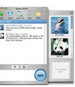 Microsoft Messenger for Mac Ekran Görüntüleri - 1