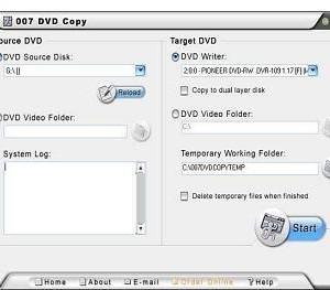 007 DVD Copy 5 Ekran Görüntüleri - 2