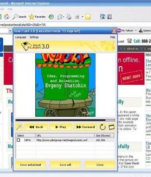 Save Flash 4.0 Ekran Görüntüleri - 1