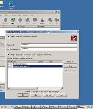 SecureZIP Ekran Görüntüleri - 1