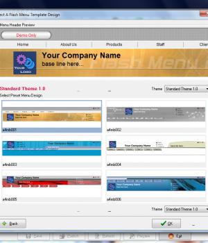 A4 Flash Menu Builder 2.16 Ekran Görüntüleri - 1