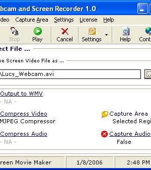 Webcam and Screen Recorder Ekran Görüntüleri - 1