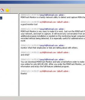 MSN Track Monitor Ekran Görüntüleri - 1