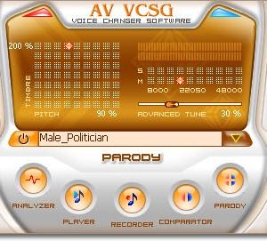 AV Voice Changer Software Gold Edition Ekran Görüntüleri - 3