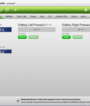 Sony Ericsson Tema Yaratıcı Ekran Görüntüleri - 2