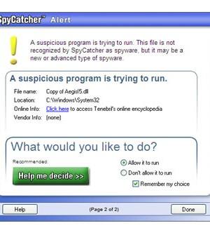 SpyCatcher 2007 Ekran Görüntüleri - 3