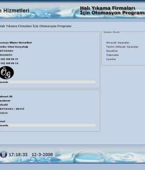 Halı Yıkama Programı Ekran Görüntüleri - 1