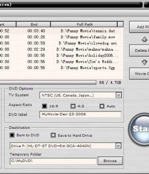 AoA DVD Creator Ekran Görüntüleri - 1