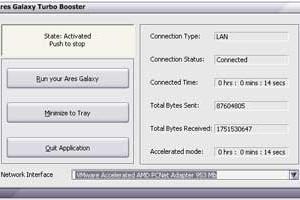 Ares Galaxy Turbo Booster Ekran Görüntüleri - 1