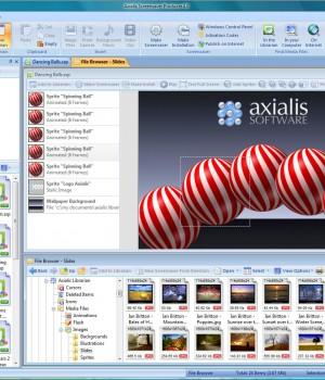 Axialis Professional Screensaver Producer Ekran Görüntüleri - 1