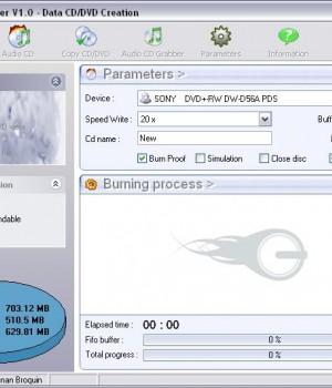 Free Easy CD DVD Burner Ekran Görüntüleri - 1