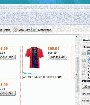 CoffeeCup Shopping Cart Designer Ekran Görüntüleri - 1