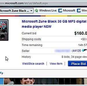 Internet Explorer 8 (Vista) Ekran Görüntüleri - 2
