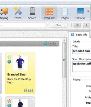 CoffeeCup Shopping Cart Creator Ekran Görüntüleri - 1