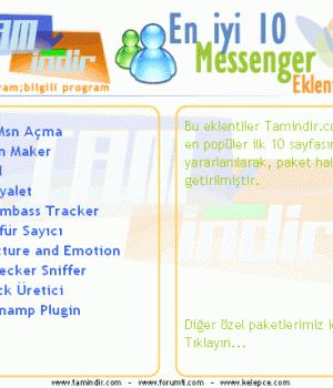 En iyi 10 MSN Eklentisi (Paket - 01) Ekran Görüntüleri - 1