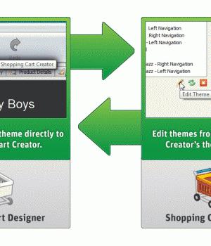 CoffeeCup Shopping Cart Designer Ekran Görüntüleri - 3