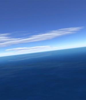 Flight over sea 3D Screensaver v2.4 Ekran Görüntüleri - 2