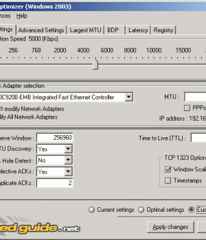 Sg Tcp Optimizer Ekran Görüntüleri - 2