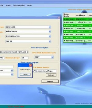 Safran Stok Takip SQL Ekran Görüntüleri - 2