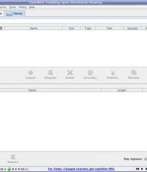 LimeWire (Linux) Ekran Görüntüleri - 1