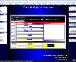 Hursoft Mağaza Programı Ekran Görüntüleri - 1