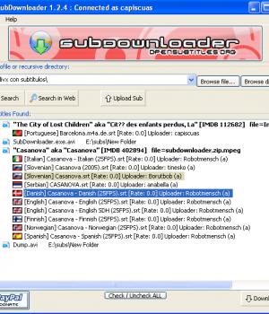 SubDownloader Ekran Görüntüleri - 1