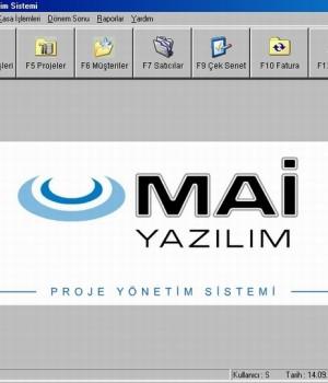Proje Yönetim Sistemi (PYS) Ekran Görüntüleri - 1