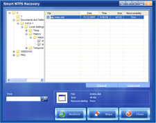 Smart NTFS Recovery Ekran Görüntüleri - 1