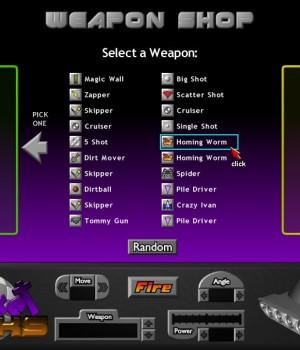 Pocket Tanks 1.2 Ekran Görüntüleri - 2