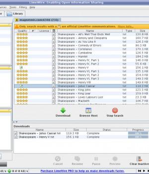 LimeWire (Linux) Ekran Görüntüleri - 2